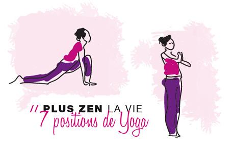 Découvrez 7 positions de Yoga pour vous détendre